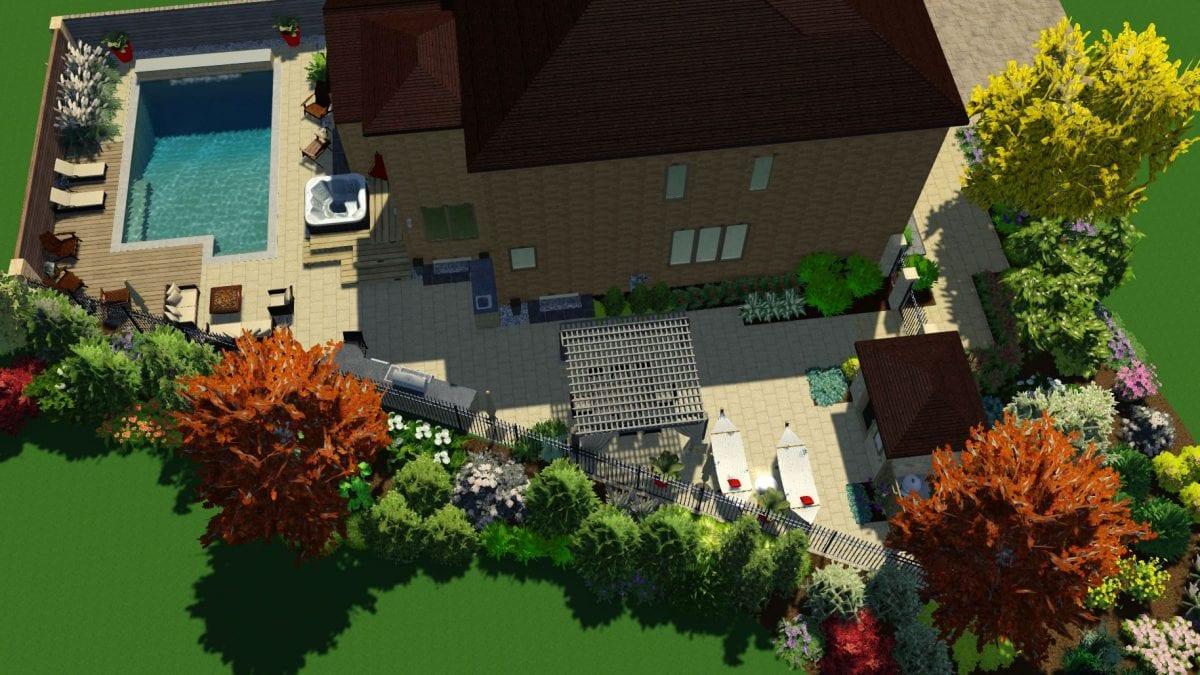 City Retreat - 3D Design